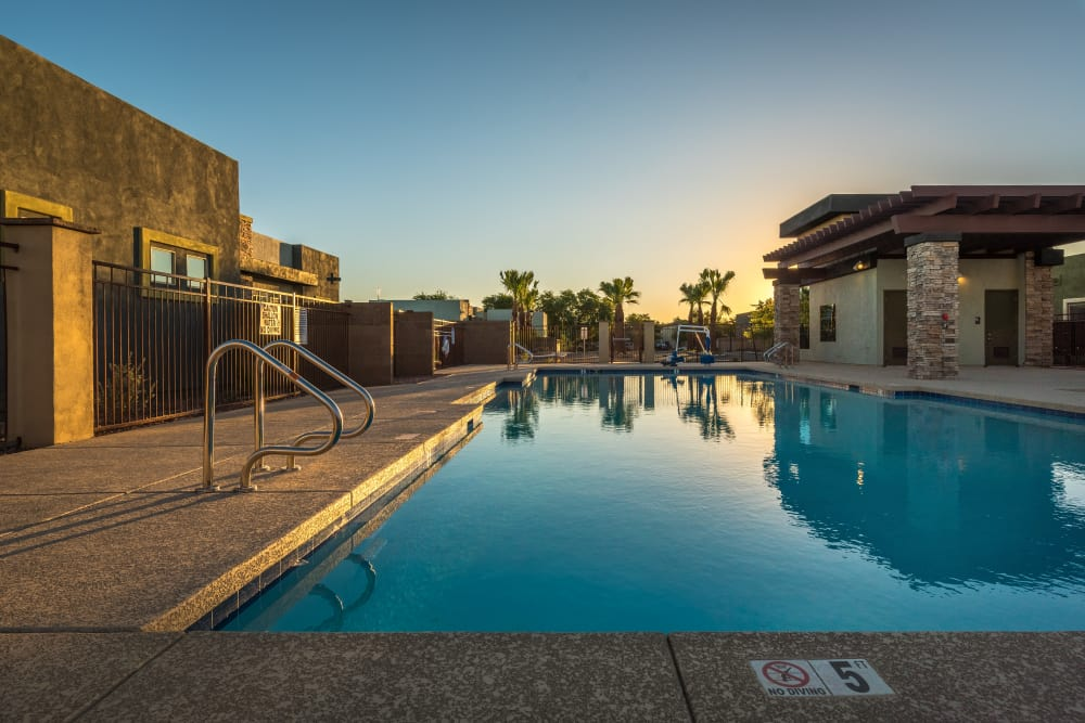 Avilla Grace showcases a state-of-the-art pool in Chandler, Arizona