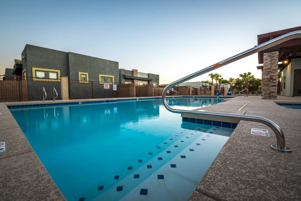 Enjoy a resort-style pool at Avilla Grace in Chandler, Arizona