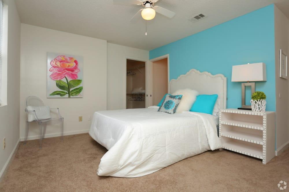 Bedroom at Rutland Place in Macon, Georgia