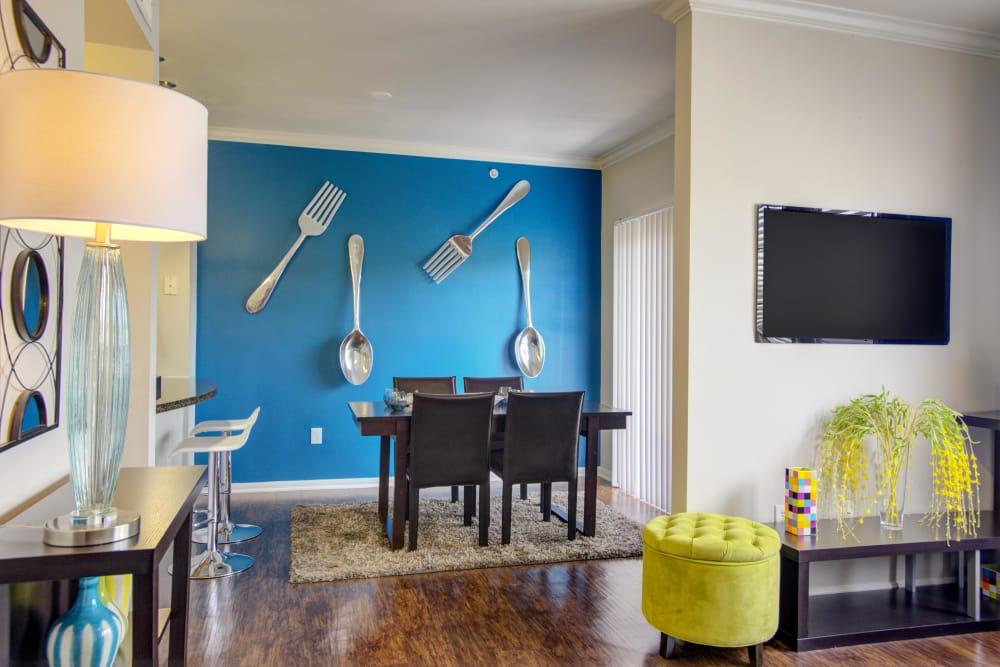 Our apartments in San Antonio, Texas showcase a modern living room