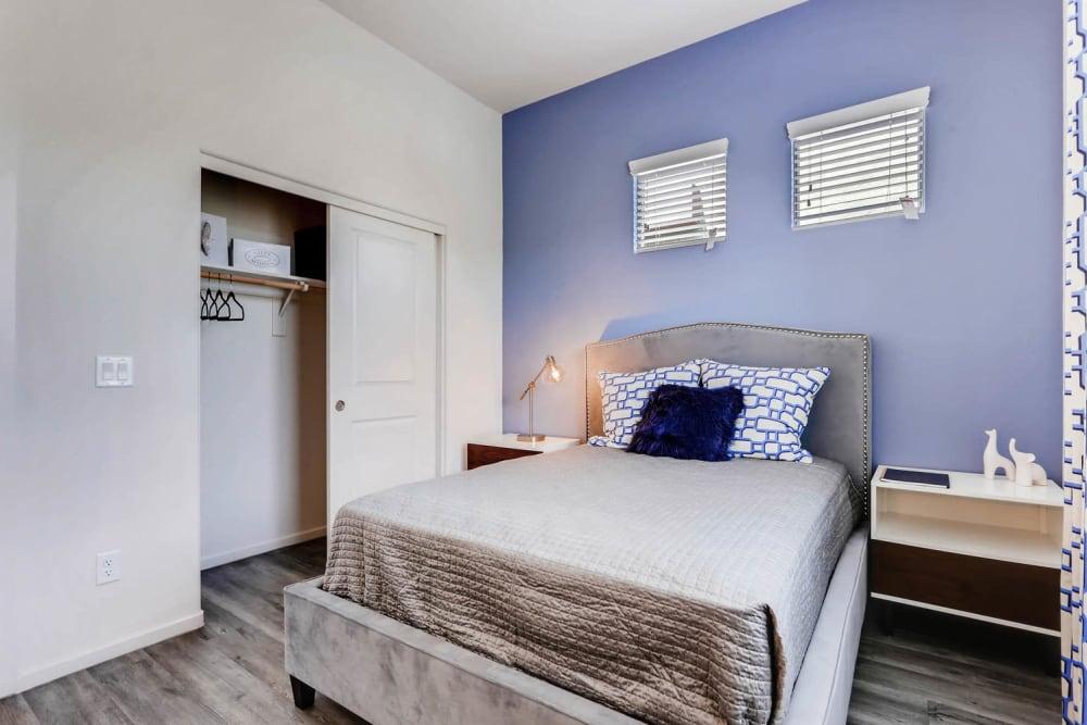 Master bedroom at Avilla Centerra Crossings in Goodyear, Arizona