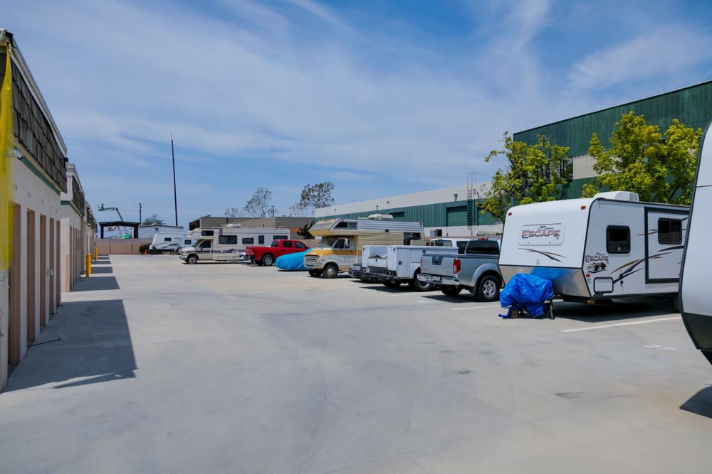 Parking at Citizens Storage in Camarillo, CA
