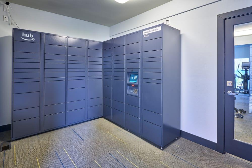 Package Lockers, Amazon HUB