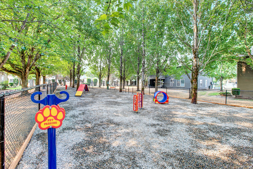 Off-Leash Dog park at Waters Edge Apartments in Kent, WA
