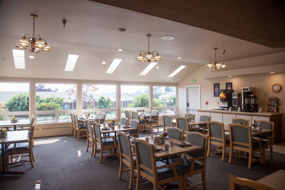 community dining area