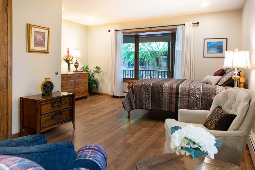 Studio senior apartment at Lakeshore Woods in Fort Gratiot, Michigan