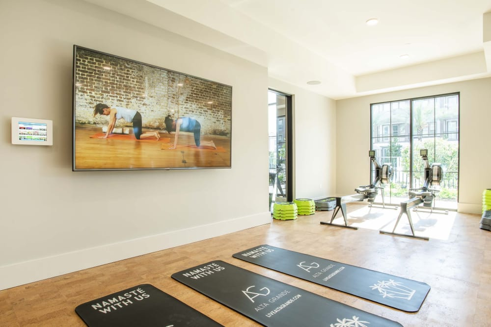 Yoga Room at  Alta Grande