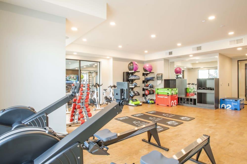 Workout room at  Alta Grande