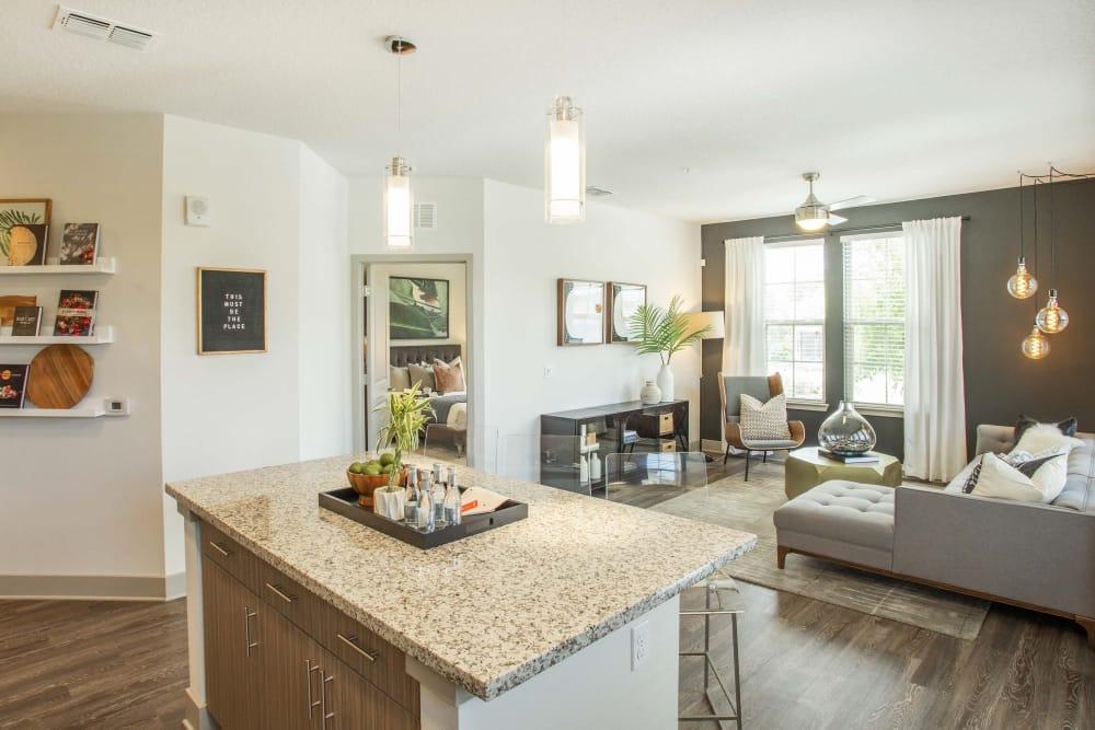 Living room at  Alta Grande