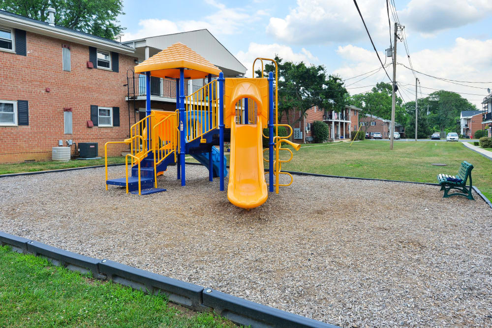 Playground at Apartments in Freehold, New Jersey