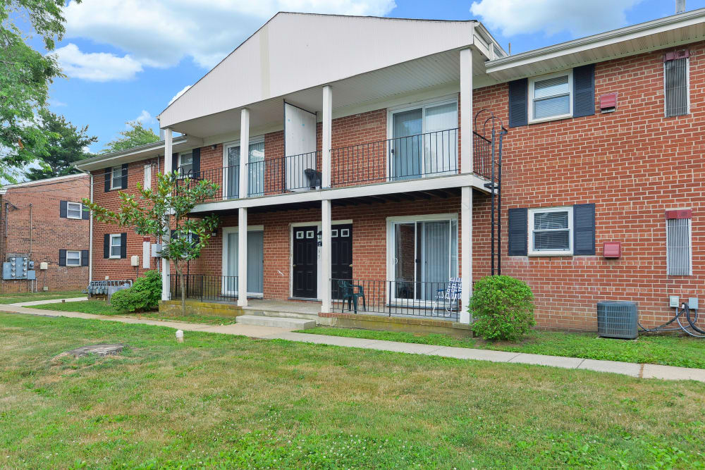 Exterior of Post & Coach Apartment Homes in Freehold, New Jersey