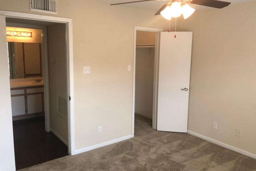 Westport Apartments offers a spacious bedroom in Angleton, Texas
