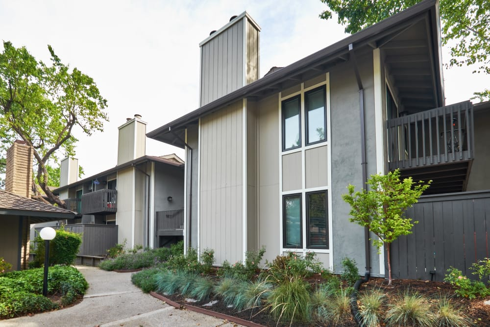 Front of the Marquee apartments in Walnut Creek, California