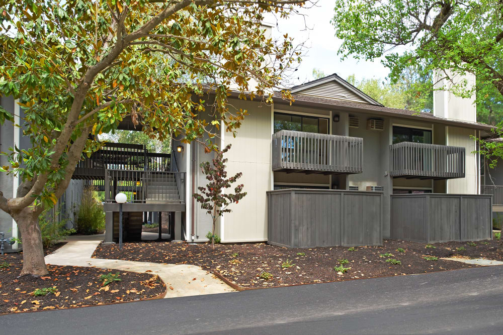 Exterior of an apartment building at Marquee in Walnut Creek, California