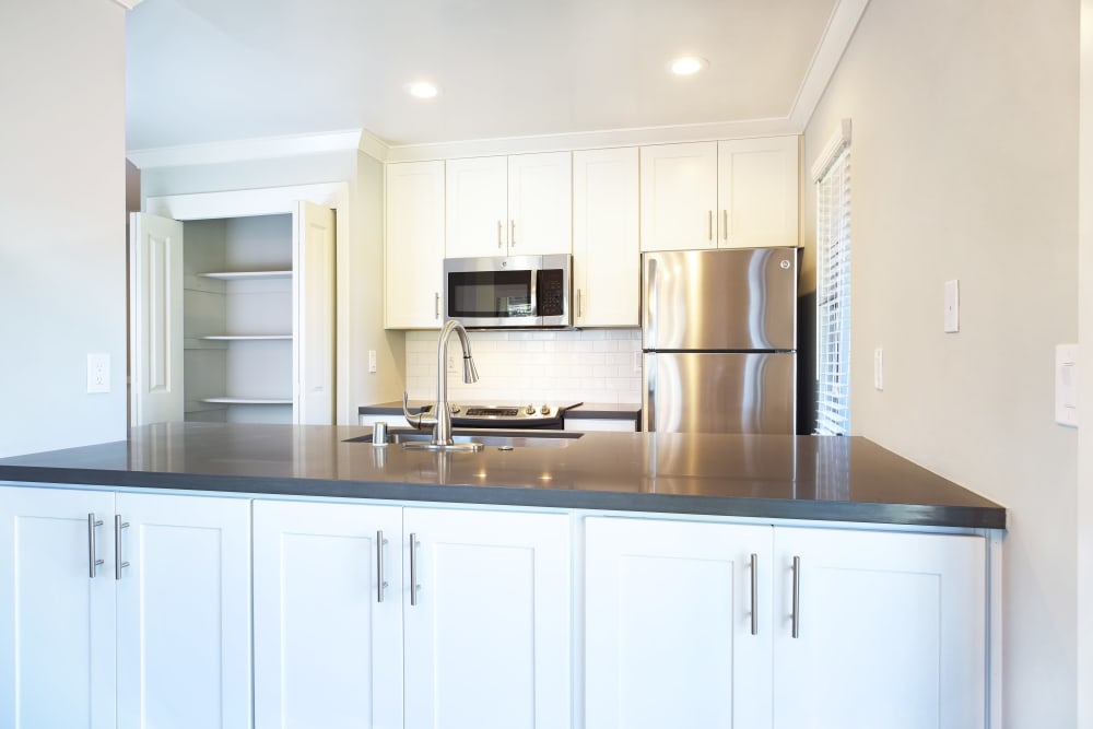 Spacious cabinetry kitchen at Marquee in Walnut Creek, California