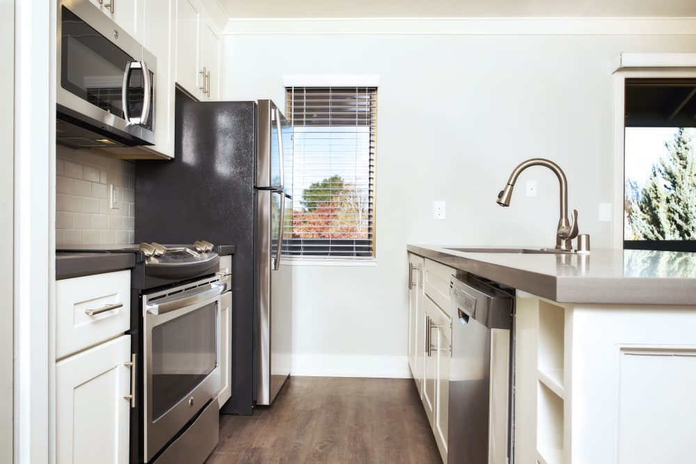 State-of-the-art kitchen at Marquee in Walnut Creek, California