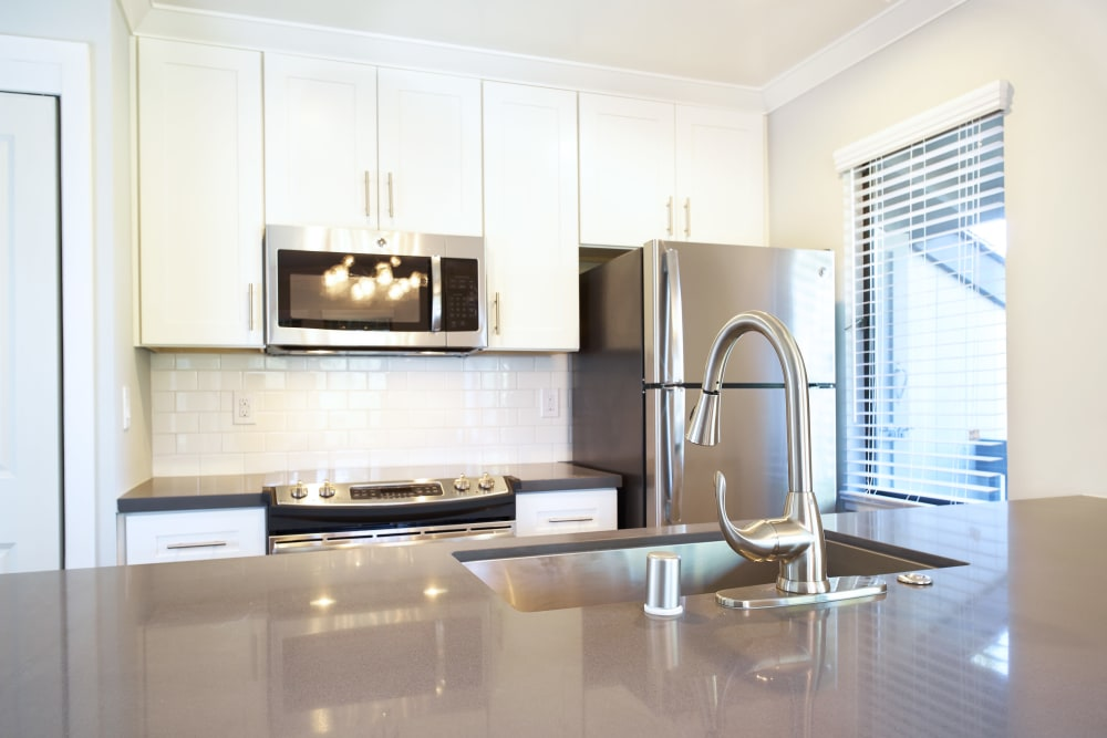 Marquee showcases a fully-equipped kitchen in Walnut Creek, California