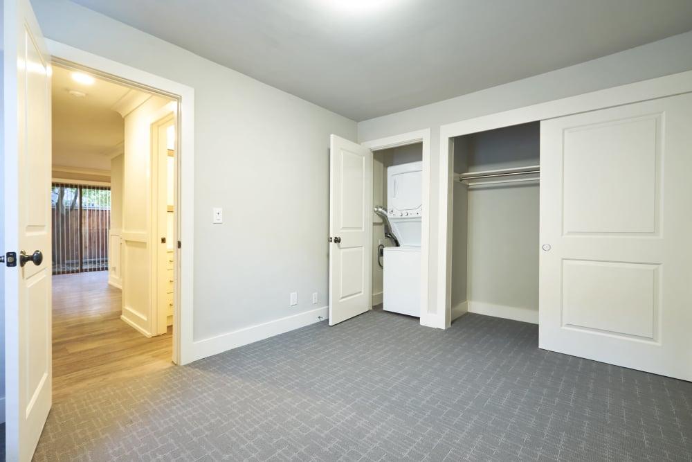 Enjoy a cozy bedroom at Marquee in Walnut Creek, California
