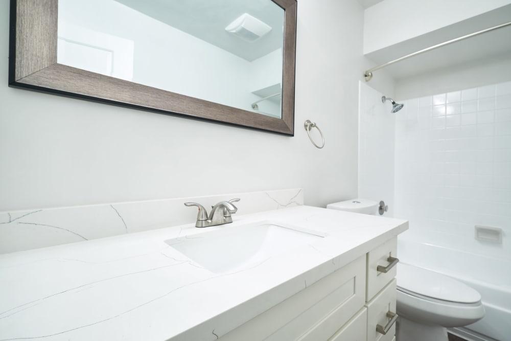 Beautiful bathroom at Marquee in Walnut Creek, California