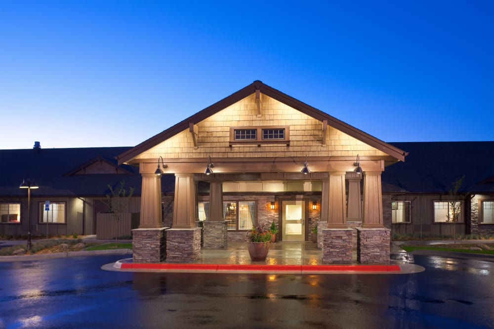 front view of Springs Ranch Memory Care & Independent Living Community