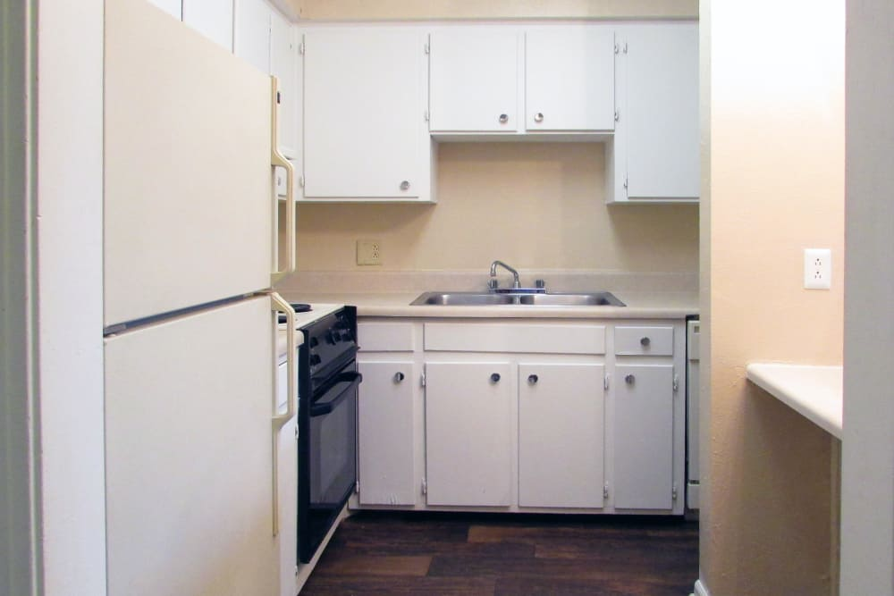 Spacious kitchen at Hickory Creek Apartments & Townhomes in Nashville, Tennessee