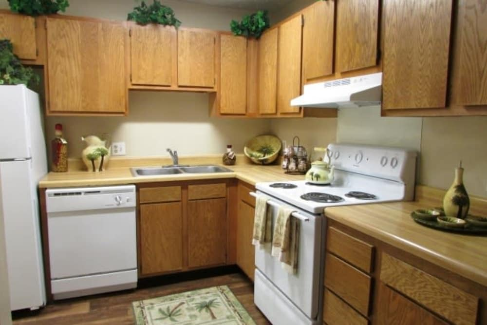 Kitchen at Jackson Grove Apartment Homes in Hermitage, Tennessee
