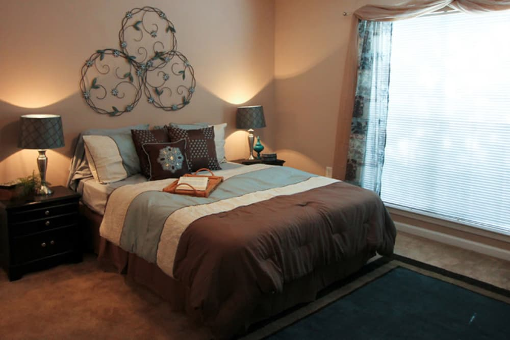 Bedroom at North Park at Eagle's Landing in Stockbridge, Georgia