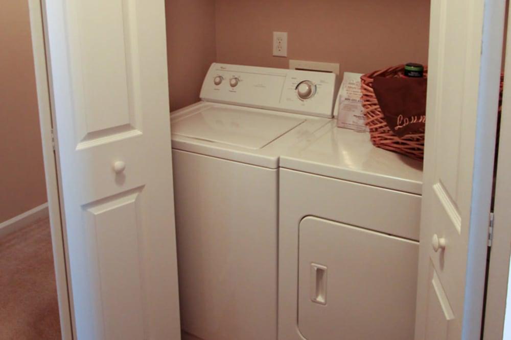 Laundry facility at North Park at Eagle's Landing in Stockbridge, Georgia