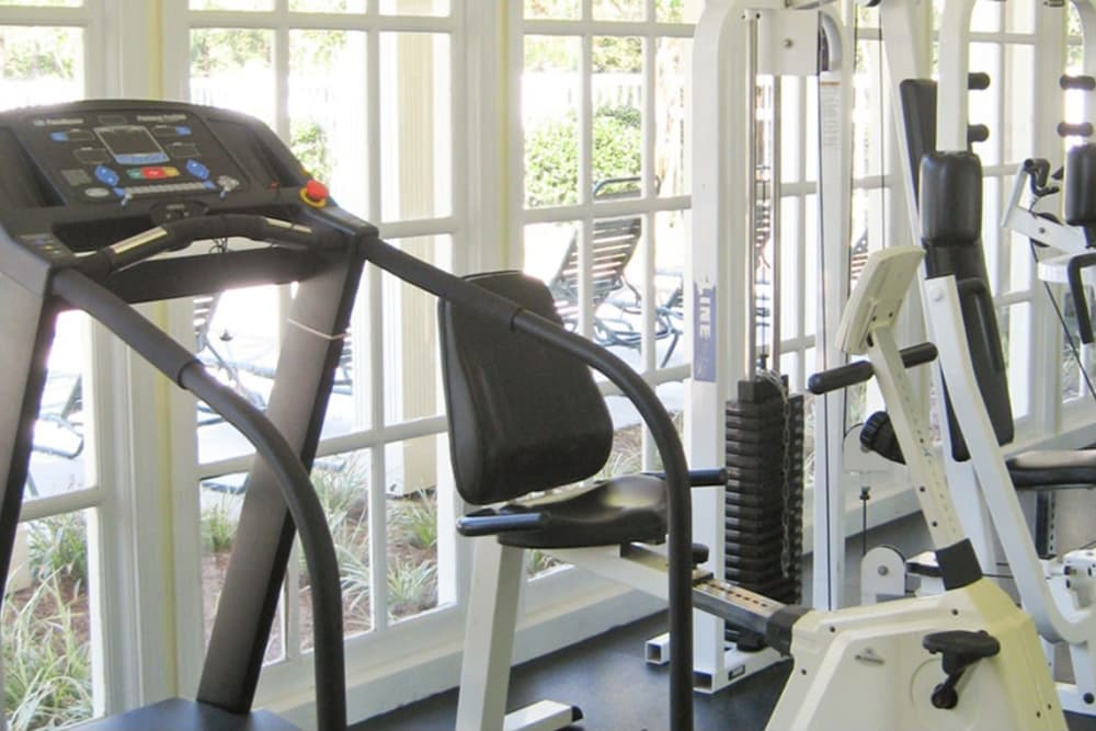 Fitness center at North Park at Eagle's Landing in Stockbridge, Georgia