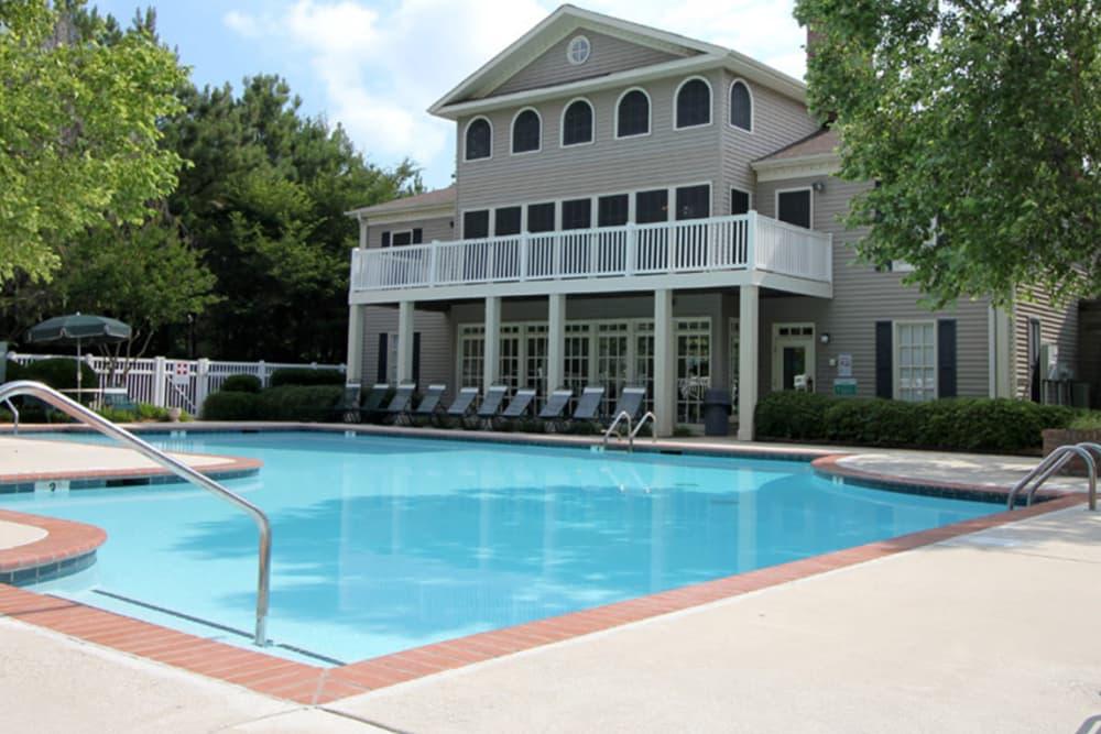 Swimming pool at North Park at Eagle's Landing in Stockbridge, Georgia