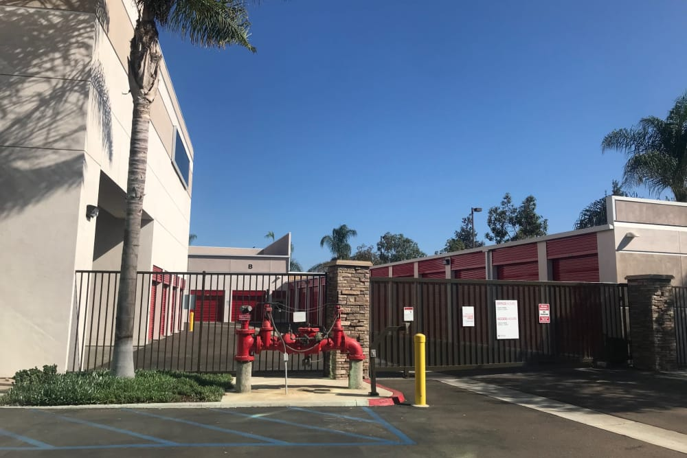 Entrance at StorQuest Self Storage in Carlsbad, CA
