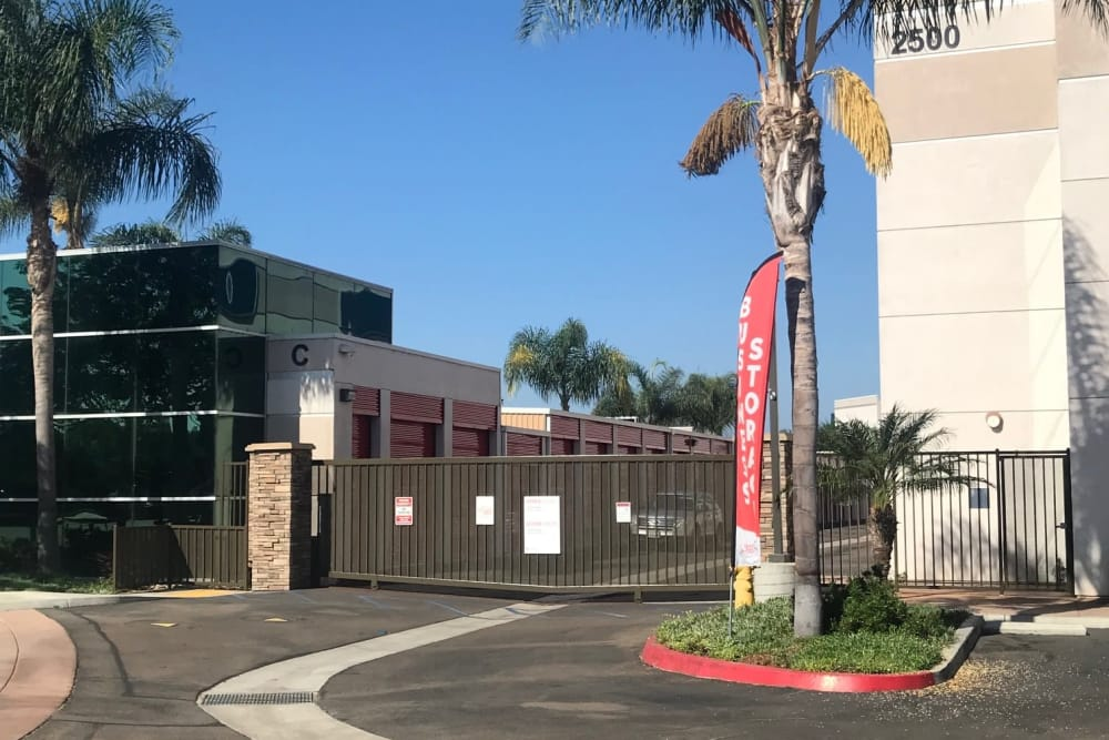 Gate at StorQuest Self Storage in Carlsbad, CA