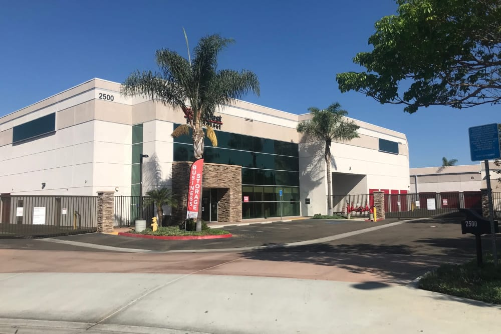 Exterior at StorQuest Self Storage in Carlsbad, CA