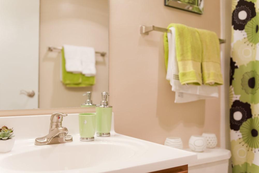 Bathroom at Bennington Crossings Apartment Homes in Alexandria, Virginia