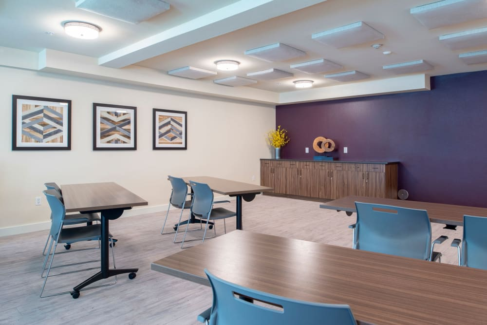 Conference room at Kipling Meadows in Arvada, CO