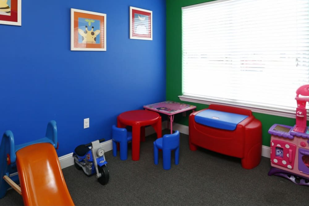 Children play room at Park at Clearwater in Aberdeen, North Carolina