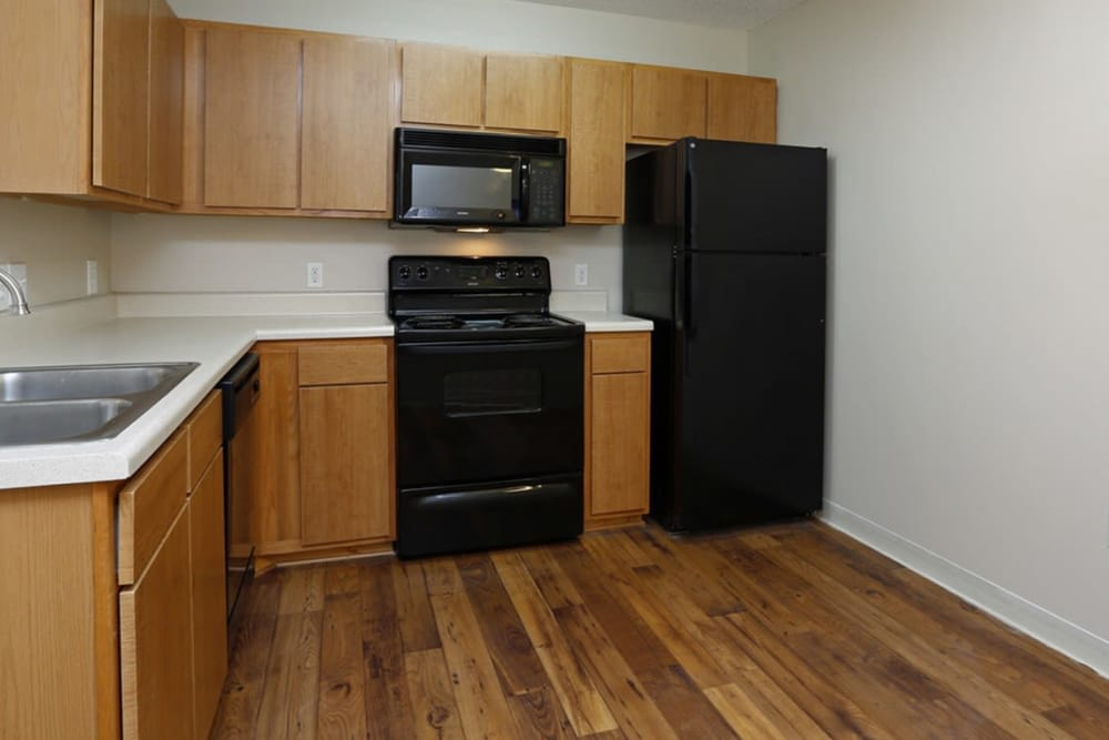 Kitchen at Park at Clearwater in Aberdeen, North Carolina