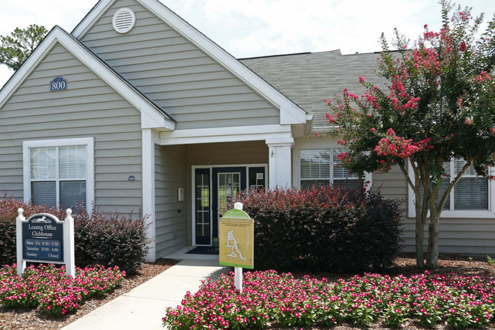 Enjoy the beautiful front view of Park at Clearwater in Aberdeen, North Carolina