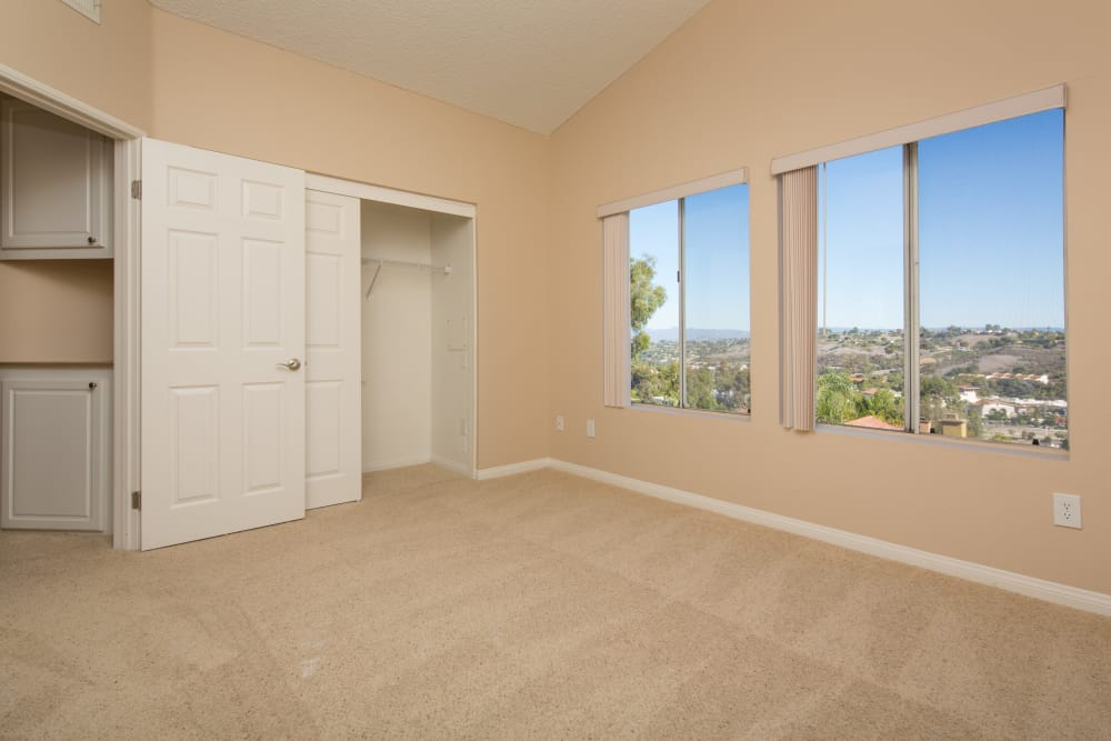 Plain space in our apartments at Niguel Summit Condominium Rentals in Laguna Niguel, California