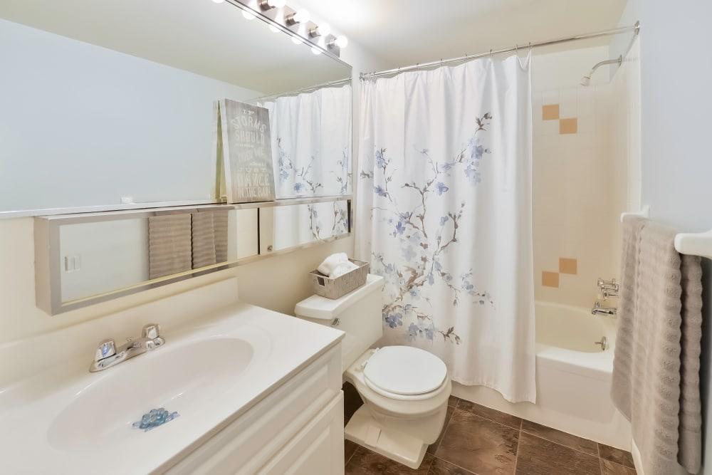 Bathroom at Summit Pointe Apartment Homes in Scranton, Pennsylvania