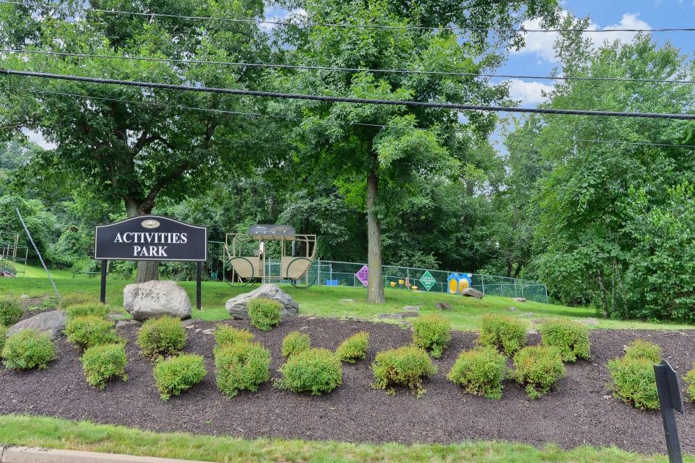 Activities Park & Playground at Summit Pointe Apartment Homes in Scranton, Pennsylvania
