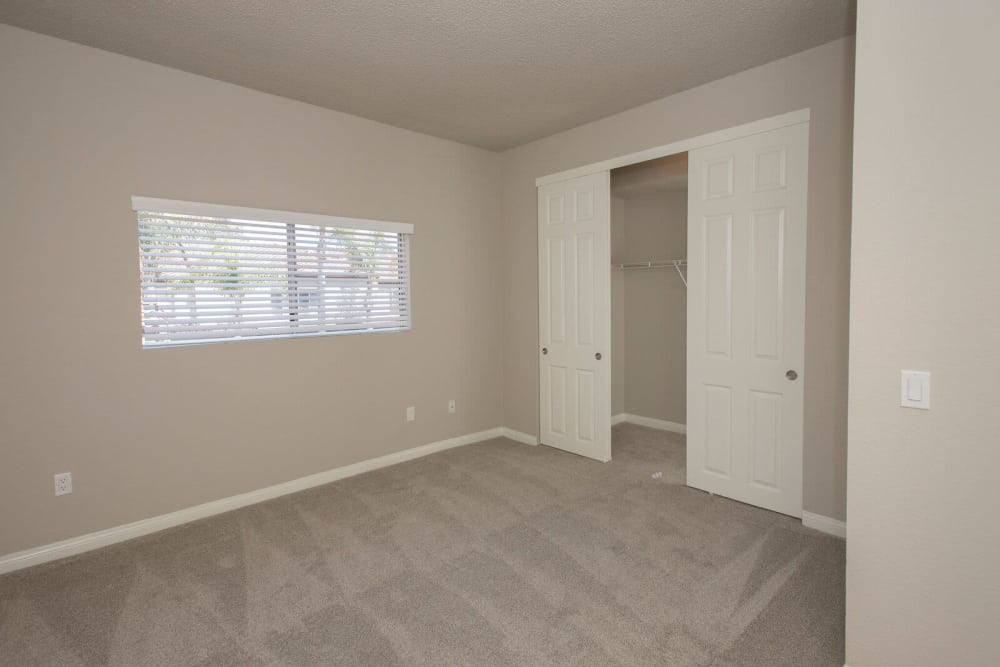 Apartments with closet at Niguel Summit Condominium Rentals in Laguna Niguel, California
