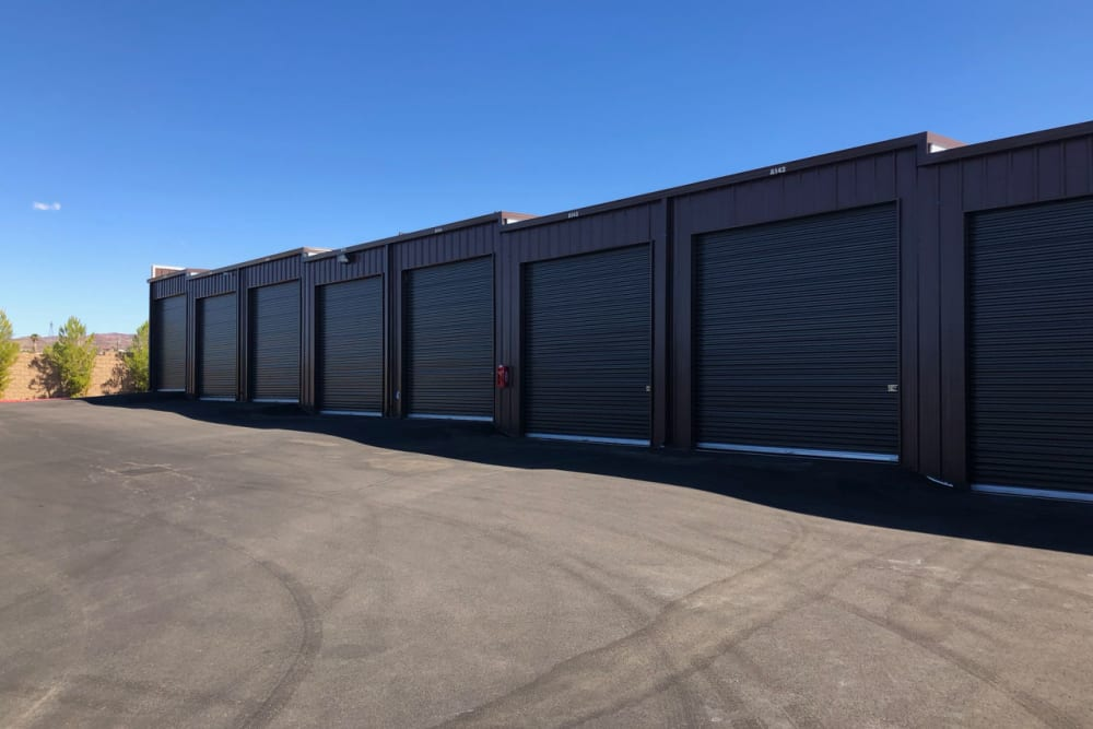 Exterior unit at Golden State Storage Cadence in Henderson, Nevada
