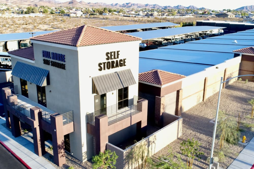Aerial view at Golden State Storage Cadence in Henderson, Nevada