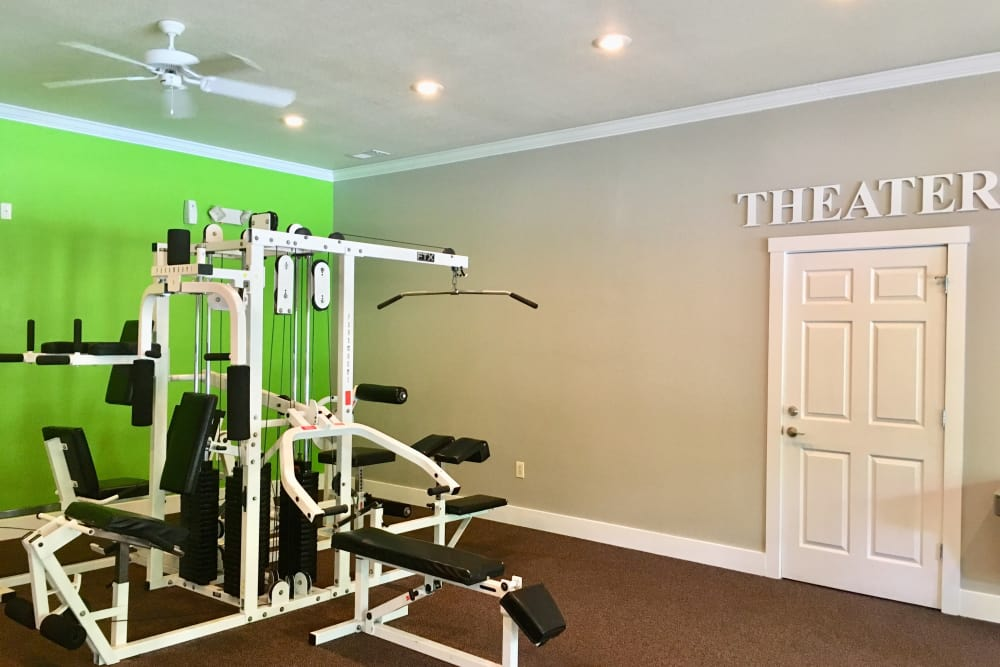 Fitness center at Villas at Lawson Creek in Boiling Springs, South Carolina
