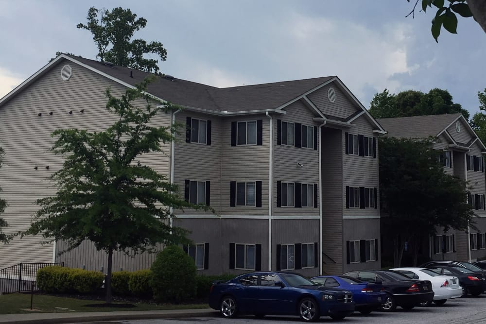 Ample parking at Villas at Lawson Creek in Boiling Springs, South Carolina