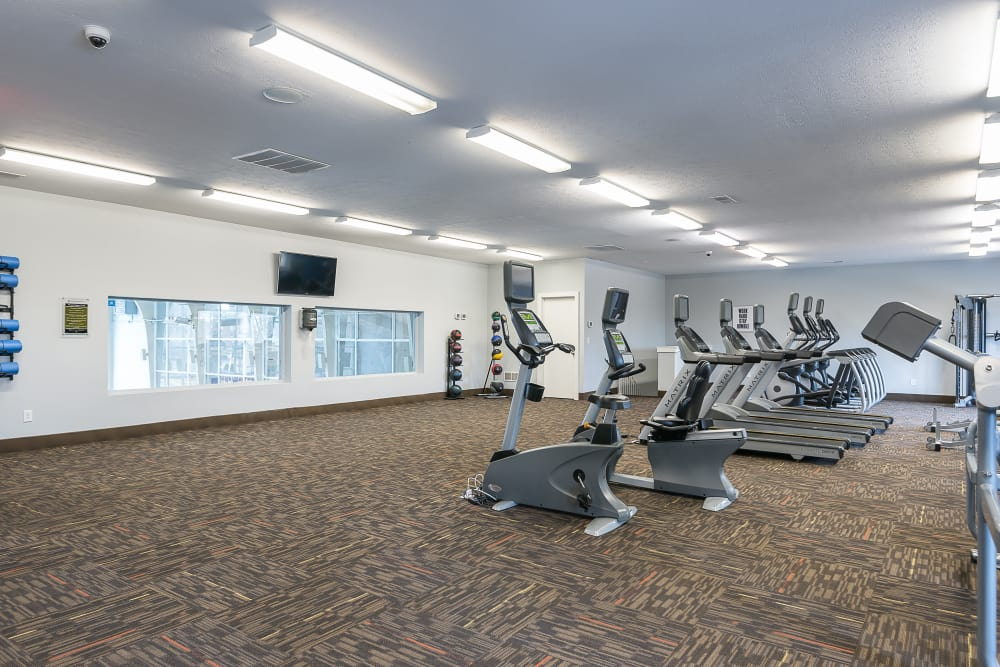 Fitness center at Park at Hurstbourne in Louisville, Kentucky