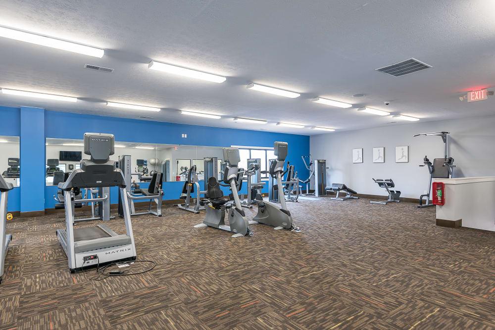 Park at Hurstbourne in Louisville, Kentucky offers a modern fitness center
