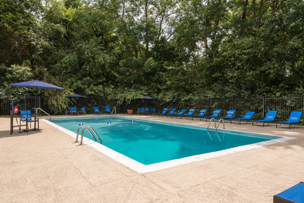 Swimming pool at Park at Hurstbourne in Louisville, Kentucky