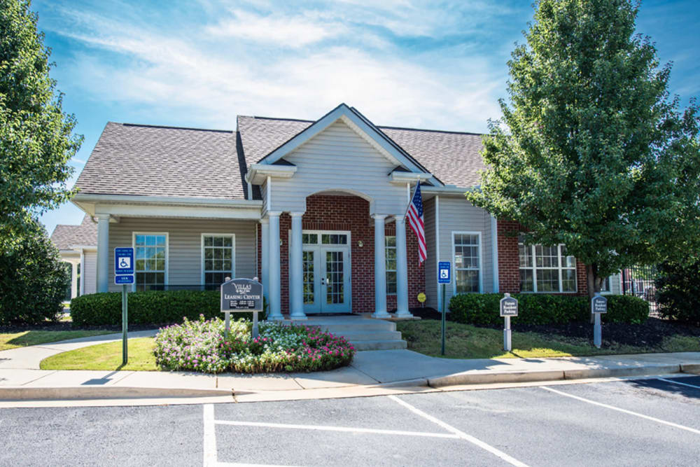 Leasing office at Villas by the Lake in Jonesboro, Georgia